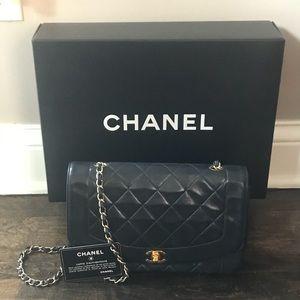 Authentic Lambskin Chanel Handbag
